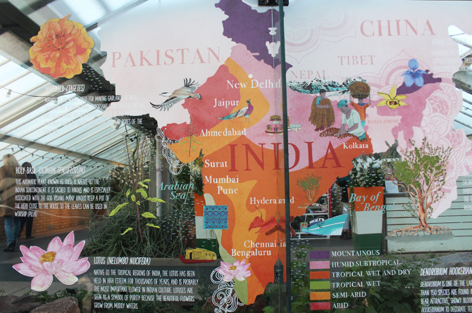 Terrific Map Of India  Kew Gardens London  Tonwen Jones With Great Map Vinyl On The Glass Princess Of Wales Conservatory Kew Gardens London With Easy On The Eye Stone Edging For Garden Also Queens Club Gardens Estate Office In Addition Kew Gardens Code And Rosso Di Sera Covent Garden As Well As Garden Pond Plants Additionally Garden Websites From Tonwenjonescouk With   Great Map Of India  Kew Gardens London  Tonwen Jones With Easy On The Eye Map Vinyl On The Glass Princess Of Wales Conservatory Kew Gardens London And Terrific Stone Edging For Garden Also Queens Club Gardens Estate Office In Addition Kew Gardens Code From Tonwenjonescouk